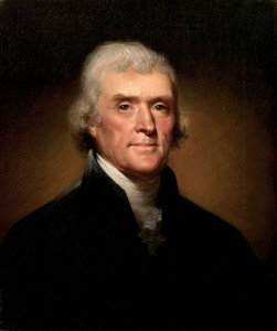 Thomas Jefferson (Rembrandt Peale, 1800)
