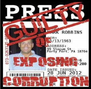 Robbins guilty of exposing corruption
