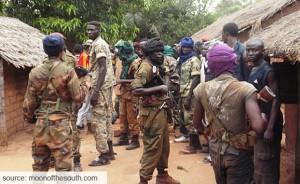 Seleka Soldiers