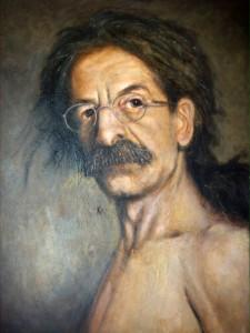 James Penedos self-portrait