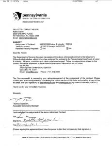 WCAIS Contract