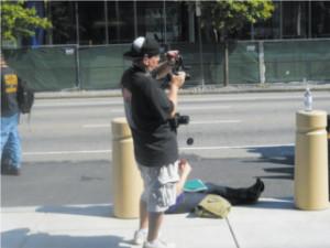 Antonello with camera gear