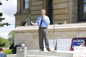 Andy Ostrowski at Occupy for Justice