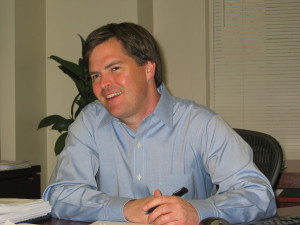 Oliver Hall, of the Center for Competitive Democracy i n Washington, DC/photo courtesy of isolononline