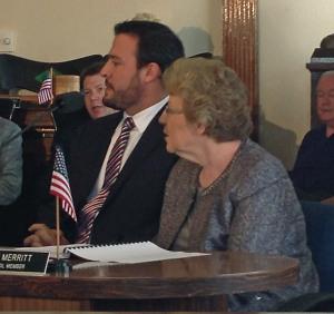Greg Barrouk and Councilwoman Maureen Lavelle