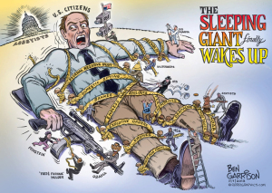 Cartoon courtesy Ben Garrison, www.GrrrGraphics.com