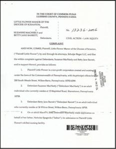 Little Flower-Barrett-MacNeely legal complaint